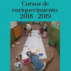 Curso de enriquecimiento 2018 - 2019