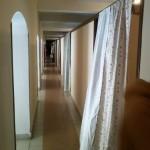 Nuestras habitaciones se extienden a lo largo de pasillos con ventanas, como éste #SueñosArca