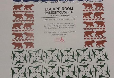 Actividad Escape Room Facultad de Geológicas UCM
